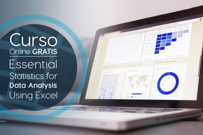 "Curso Gratis Online ""Essential Statistics for Data Analysis using Excel"" Microsoft Estados Unidos"